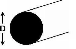 Fil laiton diamètre 1,1 mm x 500 mm